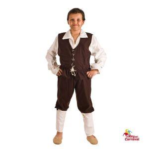 disfraz infantil escudero