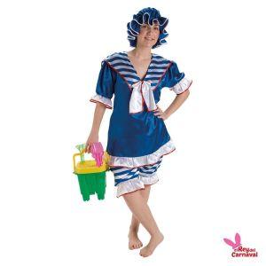 disfraz bañista mujer años 20