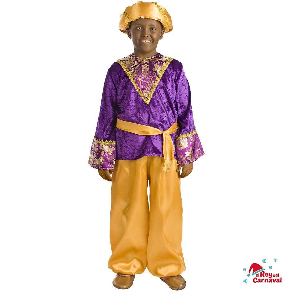 disfraz infantil paje Baltasar