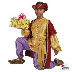 disfraz infantil paje Baltasar lujo