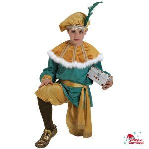 disfraz infantl paje Melchor lujo