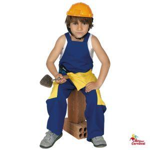 disfraz infantil obrero