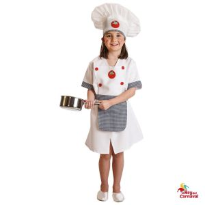 Disfraz infantil cocinera