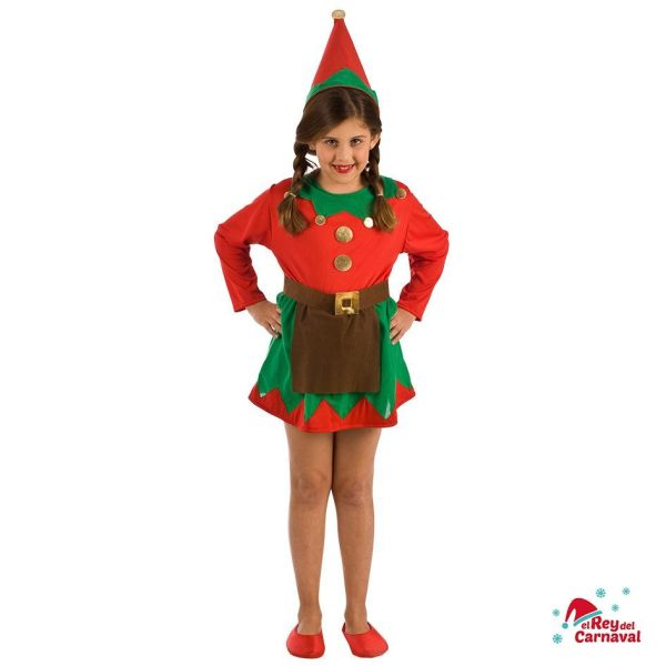 disfraz infantil elfa