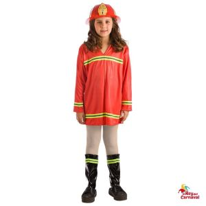 disfraz infantil bombera