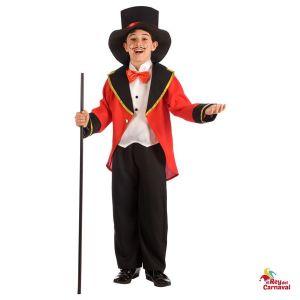 disfraz infantil presentador circo