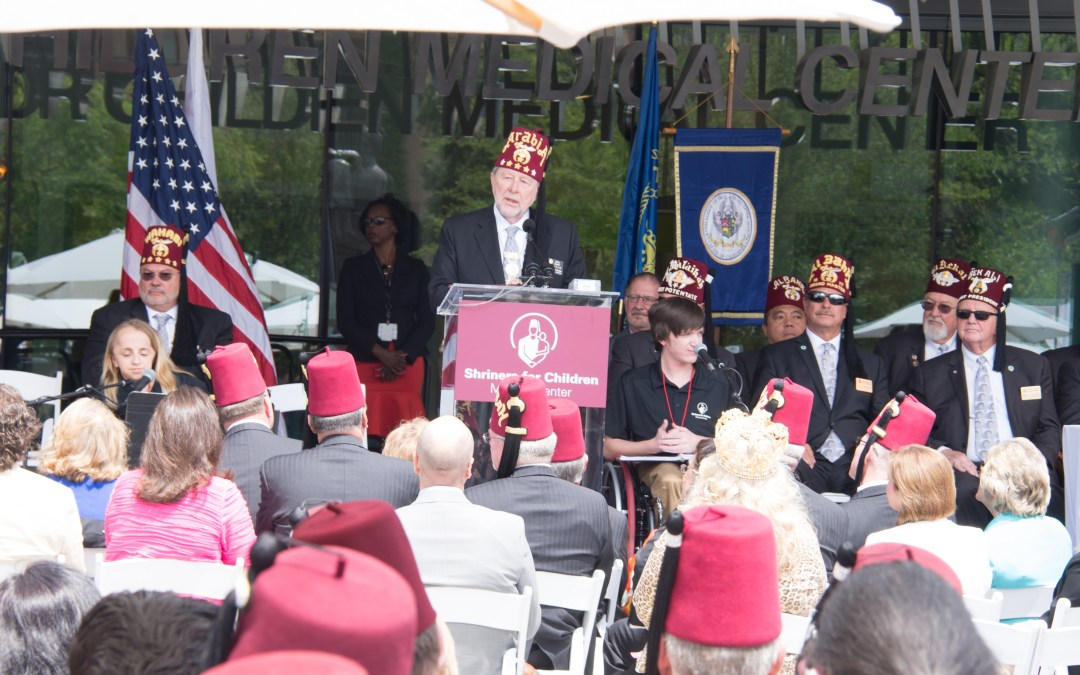 Pasadena Shriners Hospital for Children Dedication