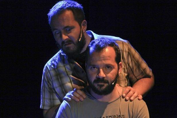 Entrevista a Ángel Martín y Ricardo Castella presentando Nunca es tarde