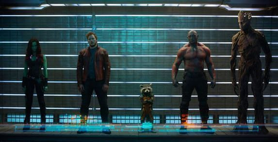 Actores de Guardianes de la Galaxia