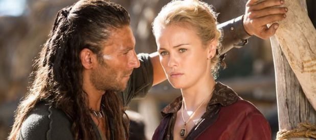 Black Sails 1x02 Capitán Vane y Eleanor