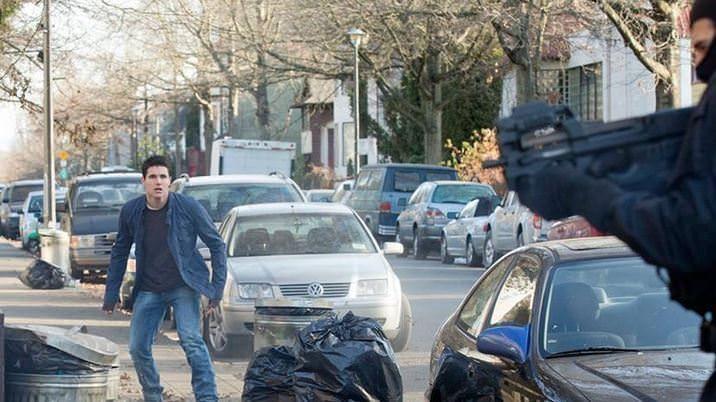 The Tomorrow People 1x13 Stephen viendo disparos