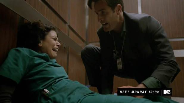 Teen Wolf 3x24 The Divine Move - Melisa sufre