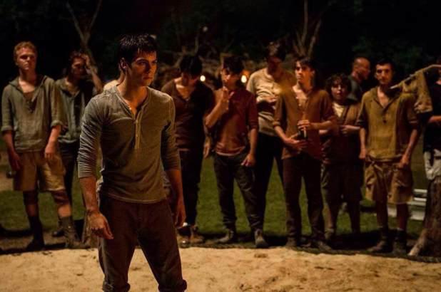 The Maze Runner Dylan O'brien