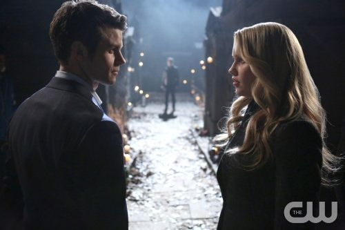 The Originals 1x15 Le Gran Guignol - Elijah y Rebekah