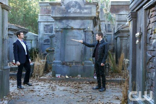 The Originals 1x16 Farewell to Storyville - Elijah y Klaus