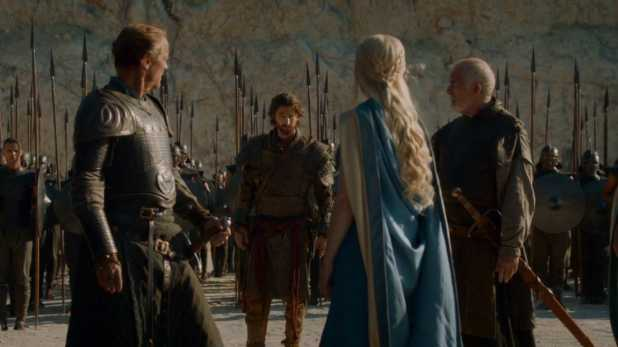 Juego de Tronos 4x03 Breaker of Chains -  Daenerys llega a las puertas de Meereen