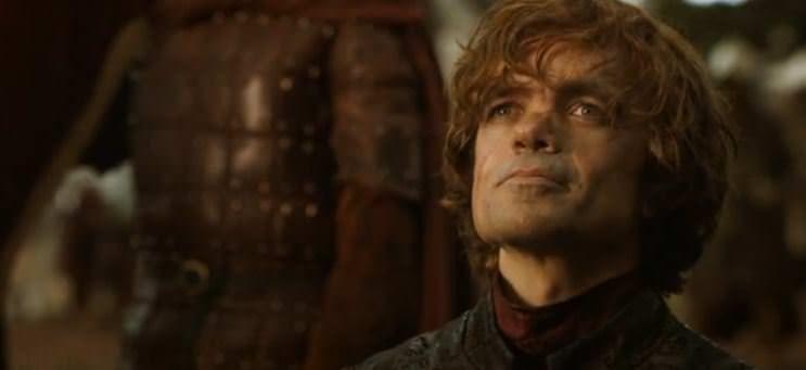 Juego de Tronos 4x01 Two Swords - Tyrion protocolario