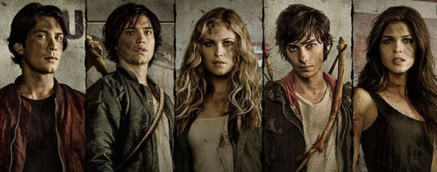 The 100 1x05 Twilight's Last Gleaming - Todo el reparto