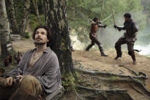 the musketeers - Dartahgan y Athos