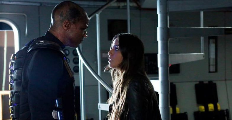 Agents of SHIELD 1×20 Nothing Personal - Skye y Deathlok