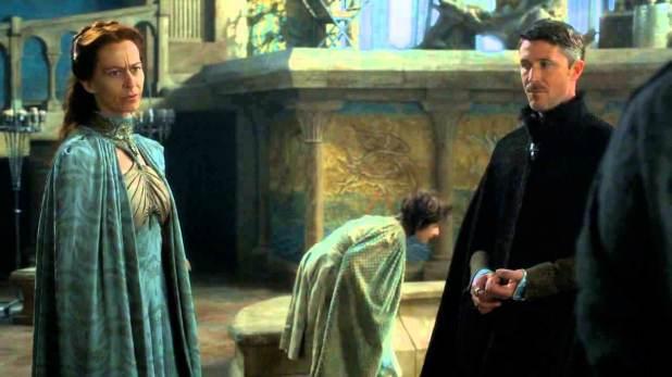 Juego de Tronos 4x05 - Primero de su nombre- Petyr y Lysa