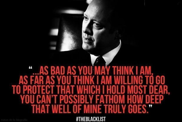 The Blacklist 1x21 Berlin - Quote