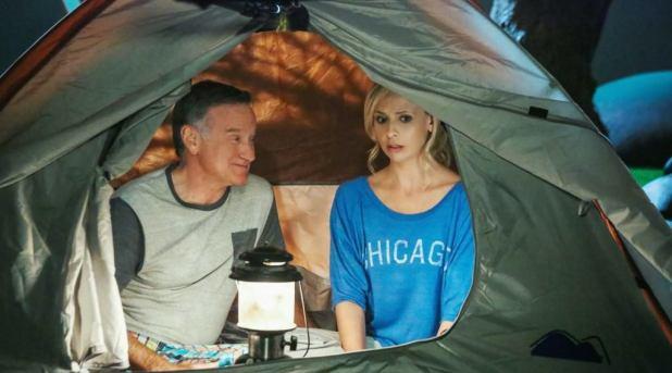 Crítica de The Crazy Ones: la relación padre-hija de Williams y Gellar siempre ha buscado dar un mensaje positivo al final.