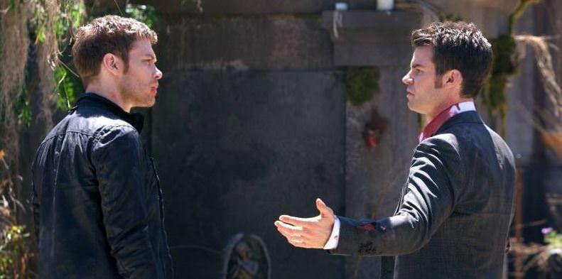 The Originals 1x22 From a Cradle to a Grave - Klaus y Elijah
