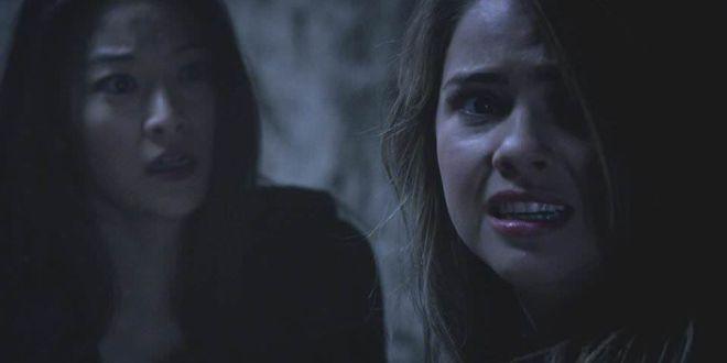 Teen Wolf 4x01 The Dark Moon - Lydia y Kira