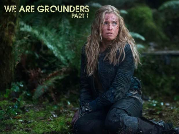 The 100 1x12 We are Grounders - Clarke