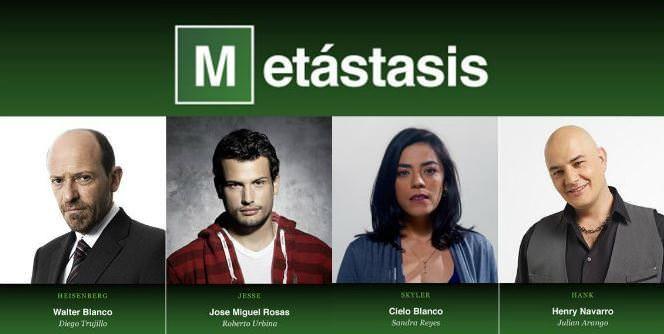Protagonistas de Metástasis