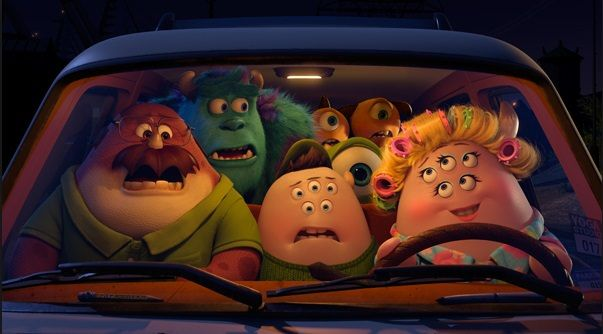 Personajes secundarios de Monsters University