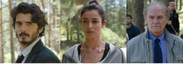 Protagonistas de la serie Bajo sospecha