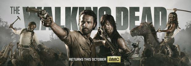 El coordinador de dobles de The Walking Dead habla de la quinta temporada