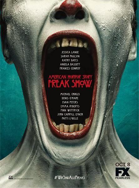 Novedades en American Horror Story: Freakshow - Segundo póster promocional