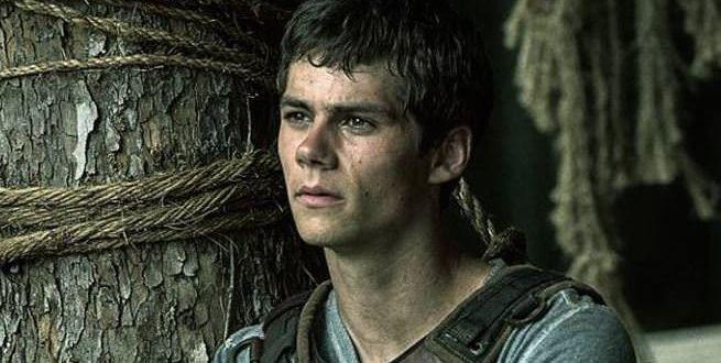 Dylan O'brien en The Maze Runner