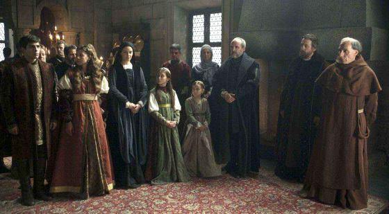 Isabel 3x03 - Los hijos de los Reyes Católicos ante sus padres