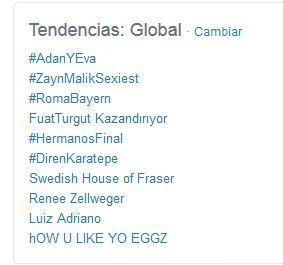 Adán y Eva fue Trending Topic mundial