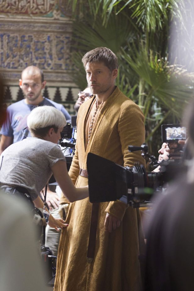 Fotos de Game of Thrones en Sevilla - Jaime Lannister