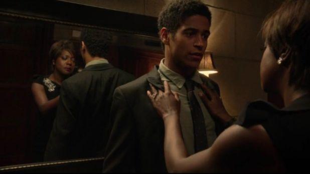 Crítica de How to Get Away With Murder: Wes es el personaje al que se da más protagonismo y Annalise (Davis) también siente predilección por él.