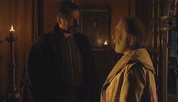 Isabel 3x06 - Francisco de Busleyden y Luis de Tremoille negociando