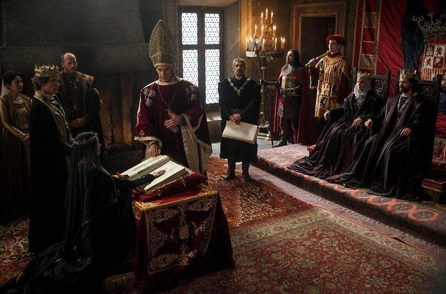 Isabel 3x06 - Isabel jurando como Princesa de Asturias