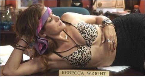 Rebbeca Wright en Bad Judge (NBC)