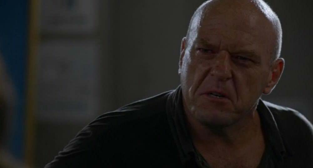 Under the dome 2x13 - Reacción de Big Jim tras conocer la causa de la muerte de Pauline