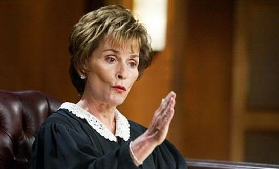 Las audiencias de los olvidados - Judge Judy