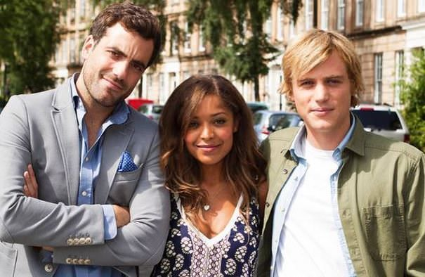 Protagonistas de la serie Scrotal Recall (Channel 4)