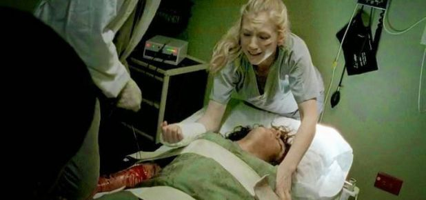 The Walking Dead 5x04 Slabtown - Beth Greene en el hospital