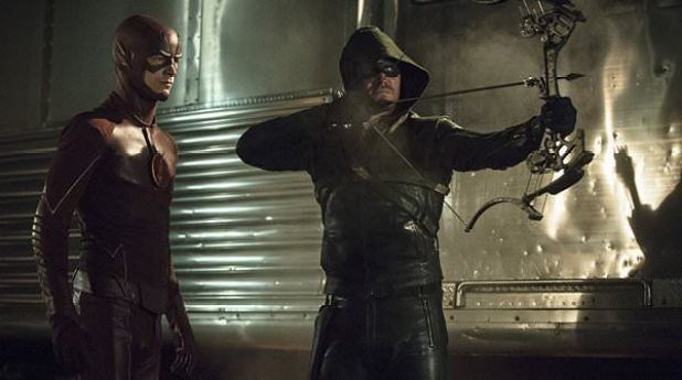 Arrow 3x08 The Brave and the Bold (vs. The Flash)