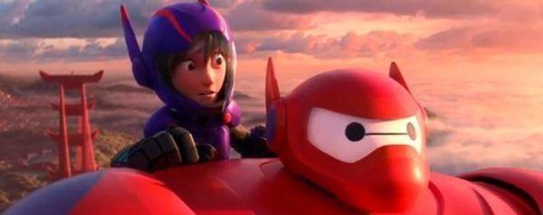 Las 10 MEJORES películas del 2014 - Big Hero 6