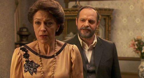 Francisca y Raimundo en El secreto de Puente Viejo
